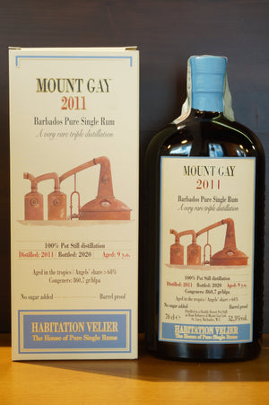 Rum Mount Gay 2011 Habitation Velier