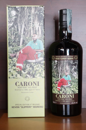 "Rum Caroni Employees Kevon ""Slippery"" Moreno 1998"