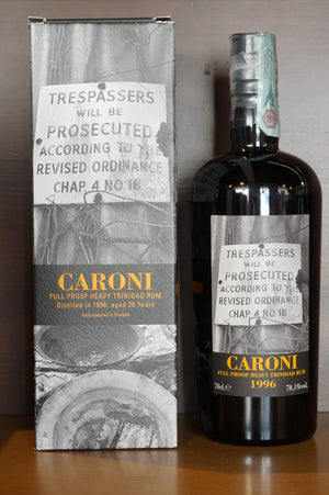 Rum Caroni Trinidad 1996 Full Proof