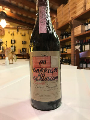 Barolo DOCG 2000 Bartolo Mascarello No Barrique No Berlusconi