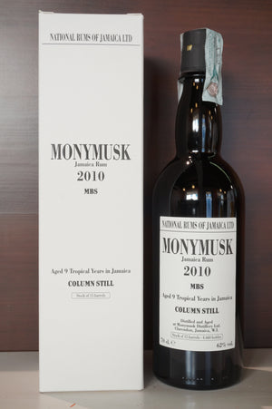 Rum Monymusk 2010 MBS