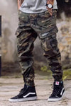 Camo Casual Cotton Pants