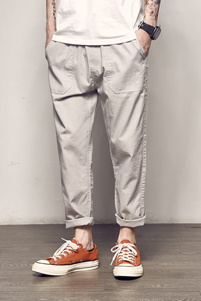 Japanese Original Loose Cotton Pants