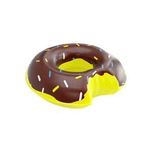 Porte Verre Gonflable Donuts Chocolat