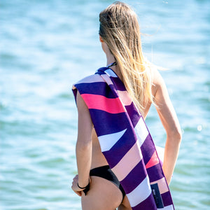 serviette plage anti sable beau soleil pop art ocean