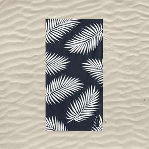 serviette de plage palm beach anti sable