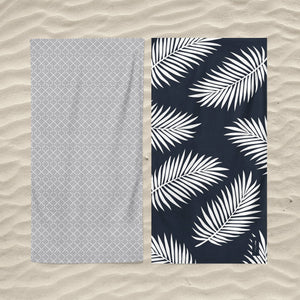 serviette de plage palm beach miami
