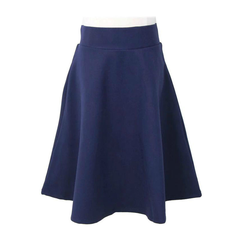 girls and teens skater a-line skirt knee length everyday wear easy wear clean machine washbale