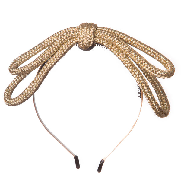 Rope Bow Hairband