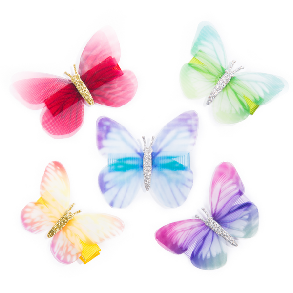 Butterfly Colourful Hairclip