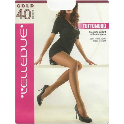 ELLEDUE 40 Denier Satin Matte Tights