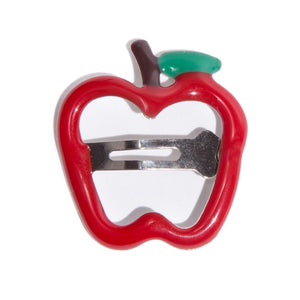 Apple Plastic Baby Hair-clip