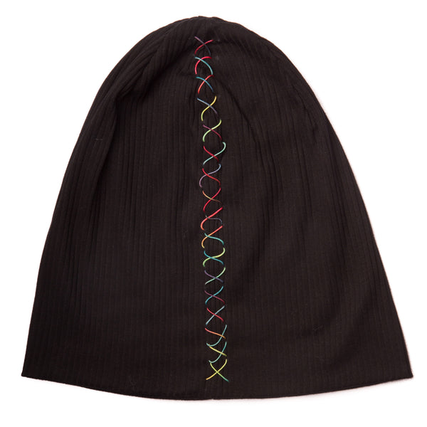 Women's Colourful Ribbed Beanie