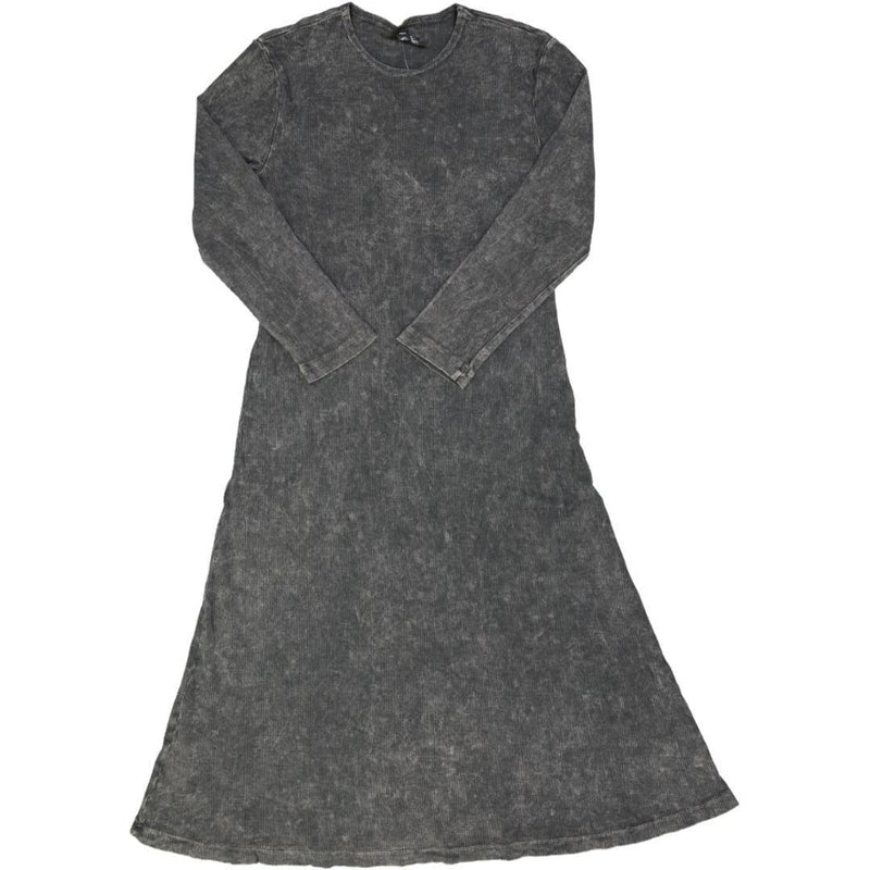Women's Ribbed Stone Wash A-line Dress