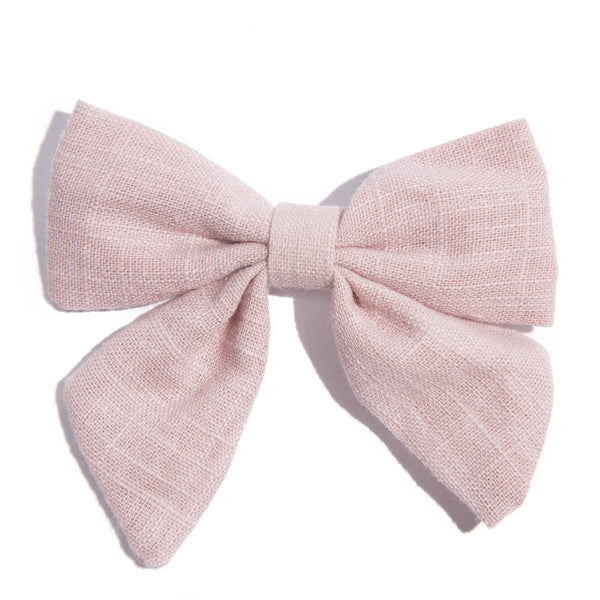 Fabric Bow Baby Hairclip