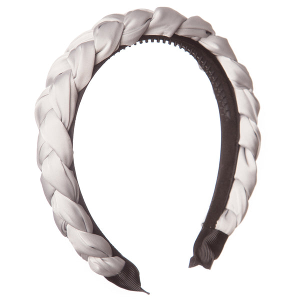 Satin Braided Hairband