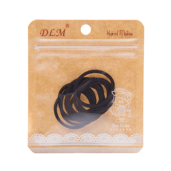 Pack of 10 Medium Elasticated Hair Bobbles