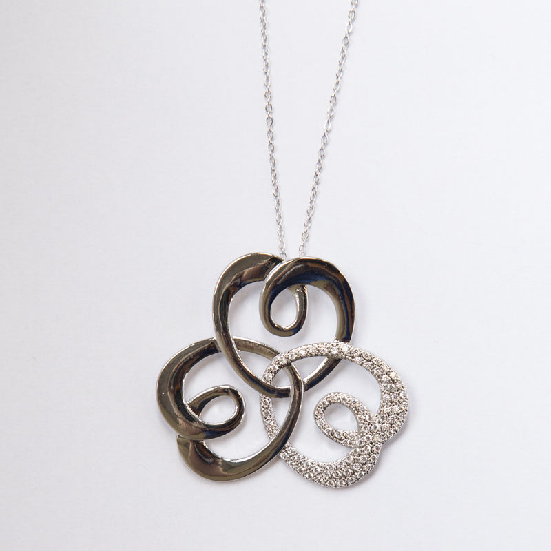 Large Heart Design Necklace