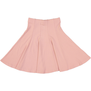Girls Ribbed Panel Skirt