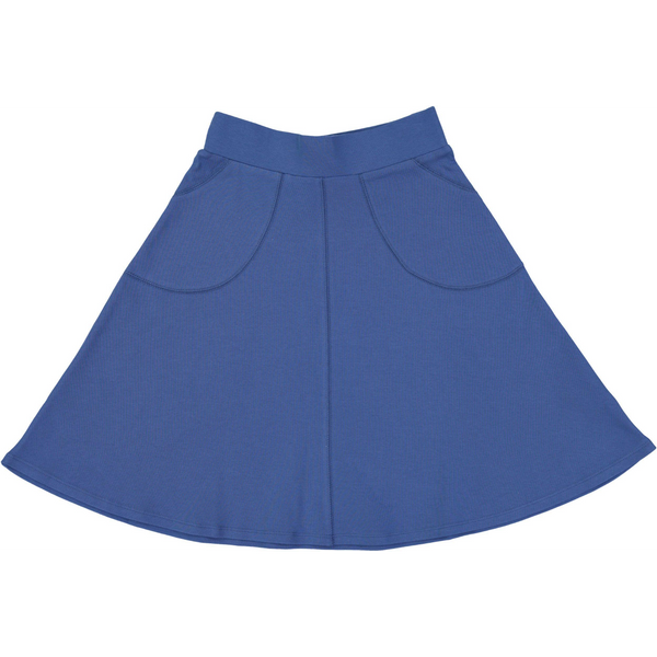 Girls Stitched Cotton Circle Skirt