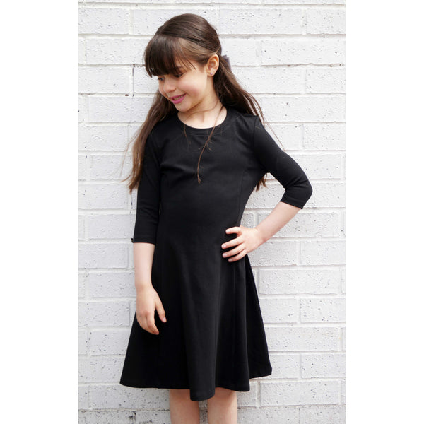 Girls Fit and Flare Dress - BK-5029