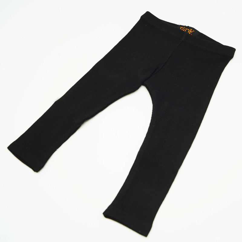 Ribbed Full Length Leggings - Basic Colours