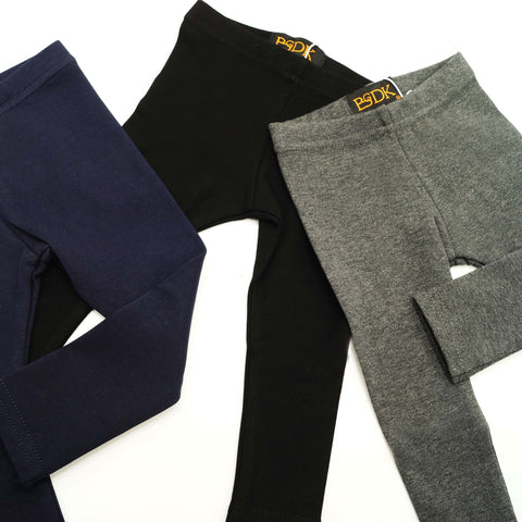 Basic Cotton Leggings - Thicker Material