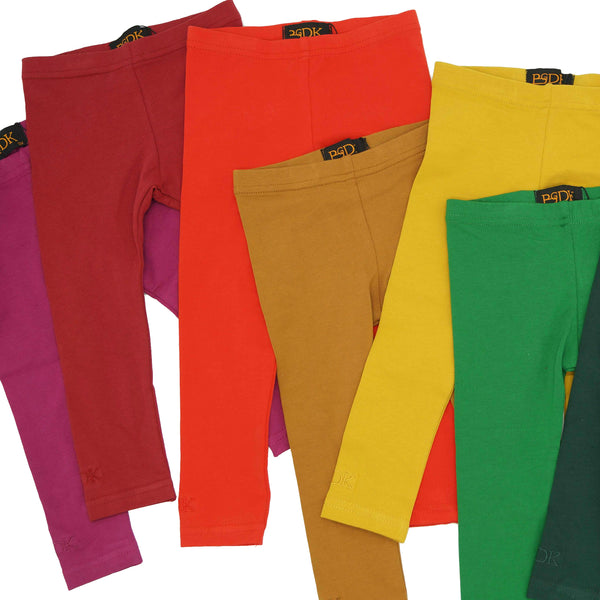 Cotton Leggings - Colours