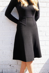 Womens A-line Knit Skirt