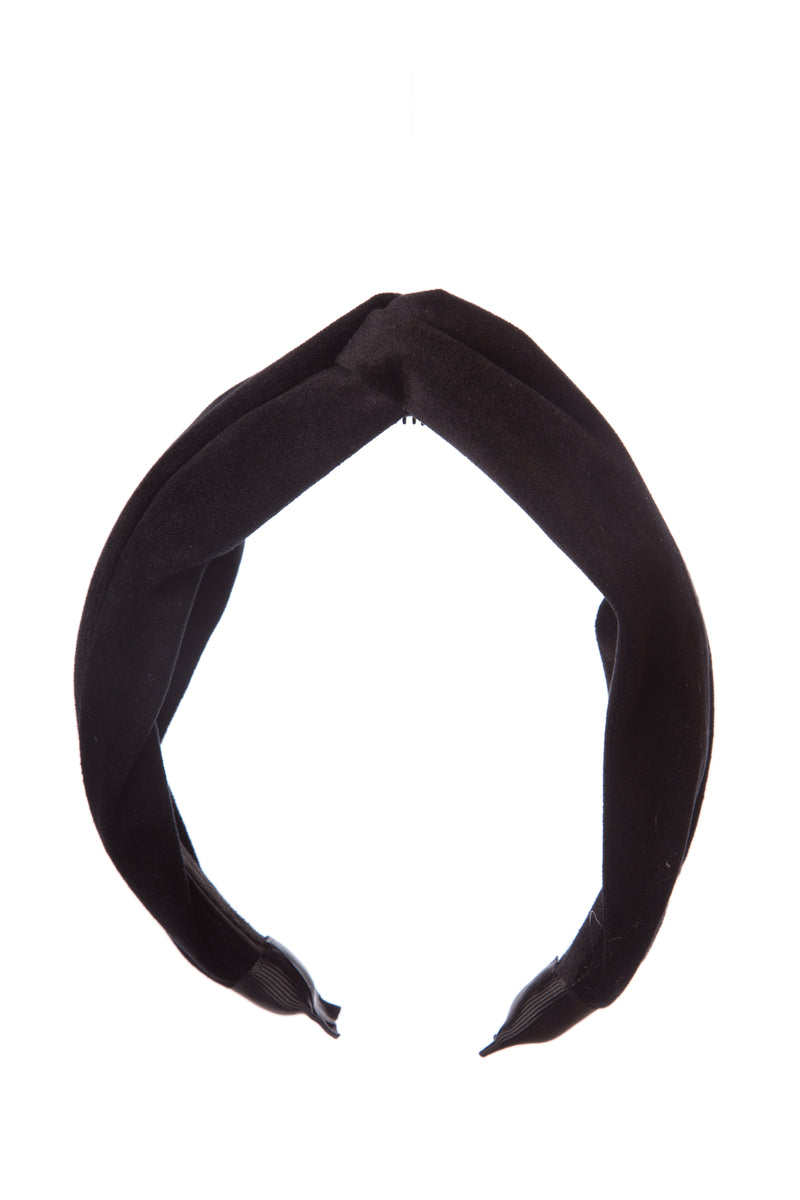 Girls Velvet Knotted Hairband