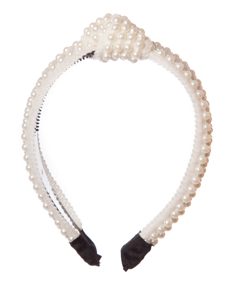 Girls Fancy Pearl Hairband