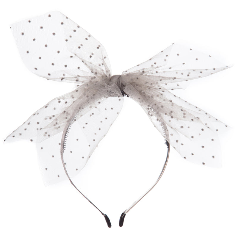 Girls Net Bow Hairband