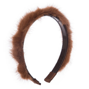 Girls Soft Furry Hairband