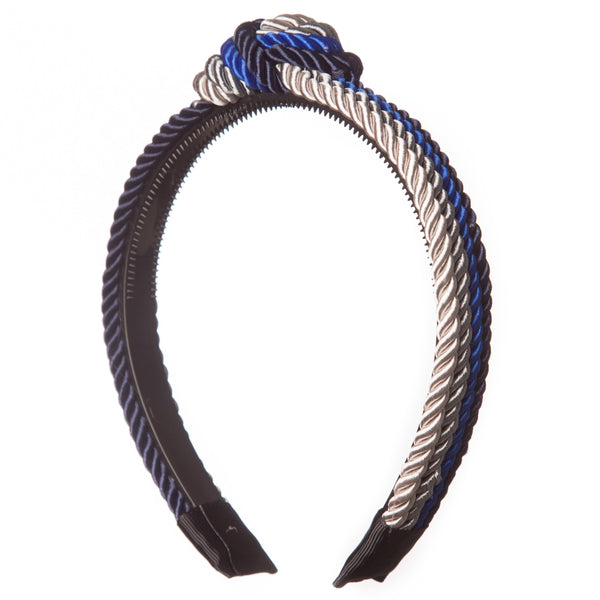 Shiny Rope Knot Hairband