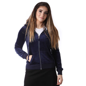 Adults Soft Velour Hoodie