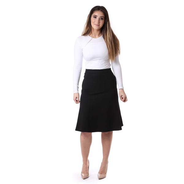 Ladies Classic Yoke A-line Skirt