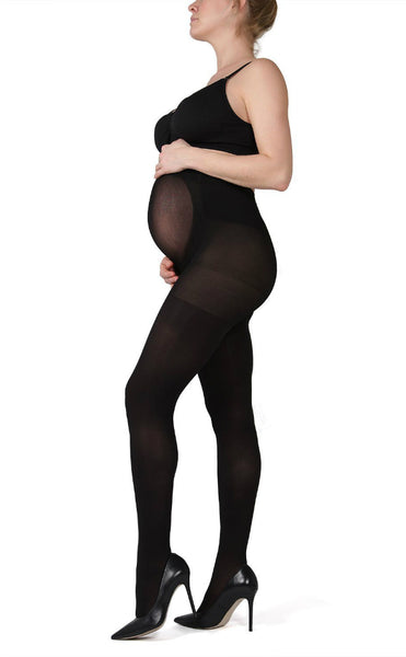 Opaque Maternity Support Tights