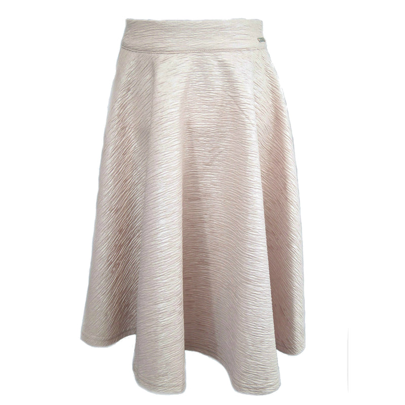 Light Pink Scuba Skirt