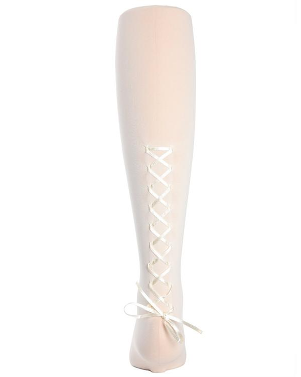 Girls Lace Up Tights