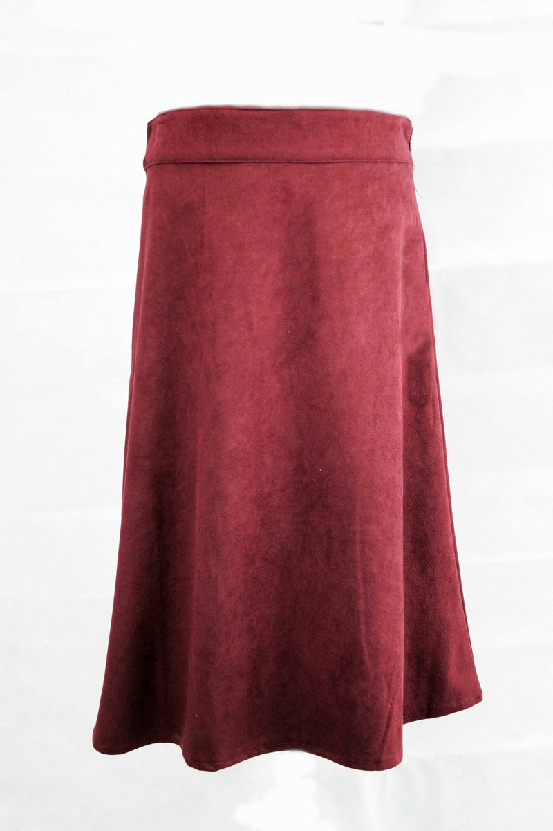 Girls Suede Skirt