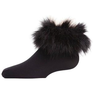 Fur Ankle Socks