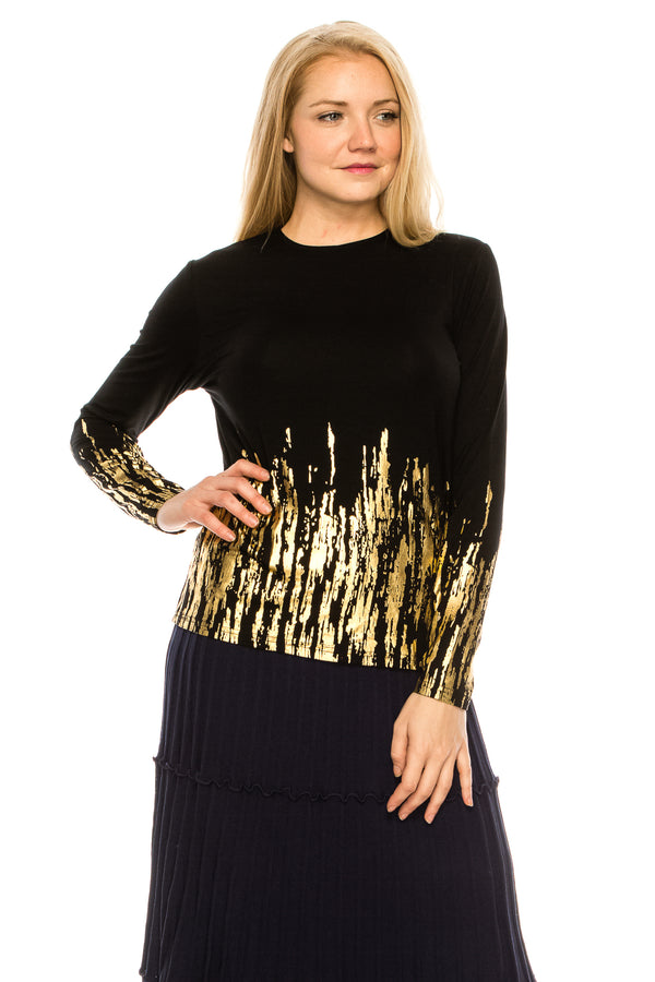 Gold Design Top