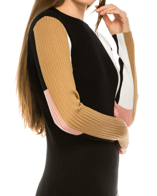 Colour Patch Sweater