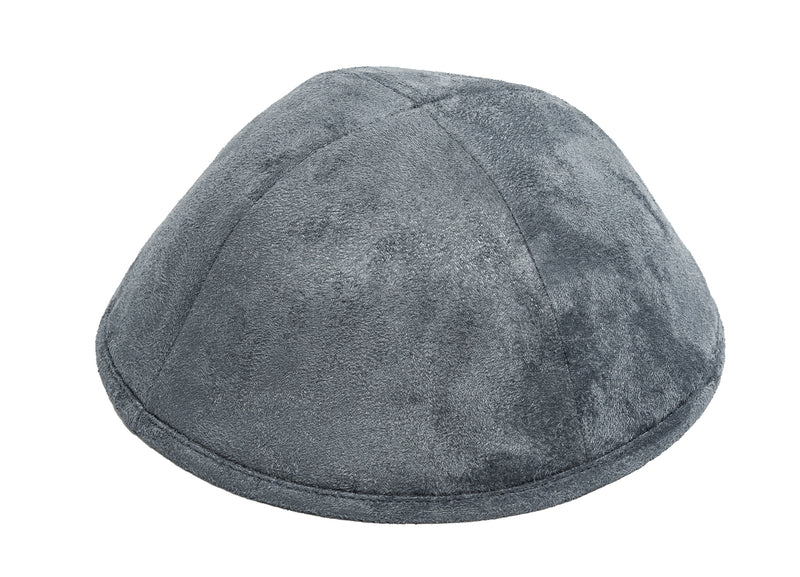 Leather Look Yarmulke