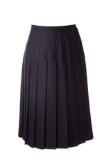 Girls Pleated Uniform Skirt