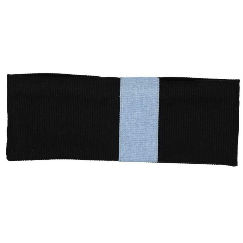 Dacee Denim Centre Headwrap