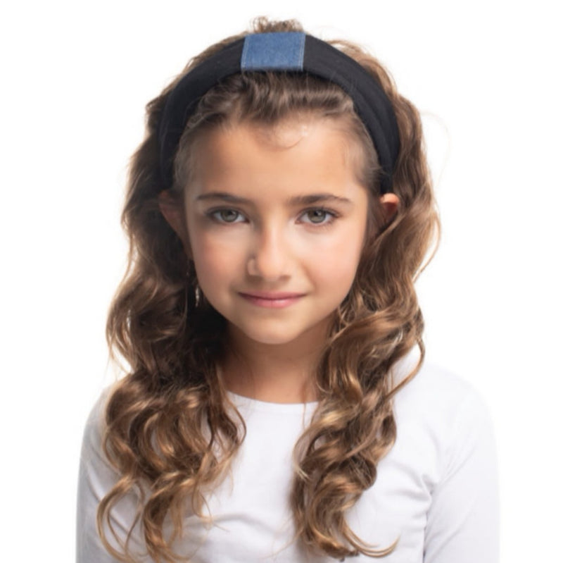Denim Centre Hairband