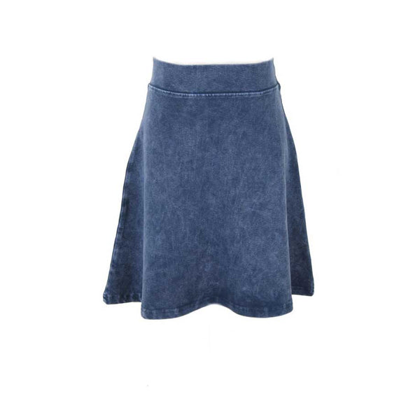 Girls Stonewash A-line Skirt