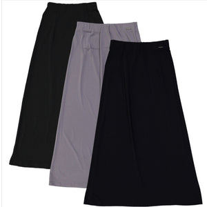 Girls Basic Long Slinky Skirt