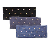 Ladies Iridescent Stud Headwrap